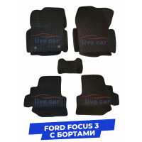 3d коврики с бортами из eva в салон Ford Focus 3